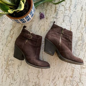 Lucky Brand Shearling Lined Booties